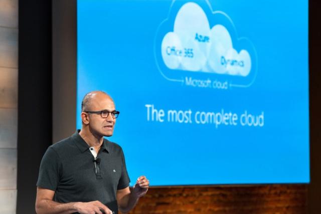 Облака тянут Microsoft