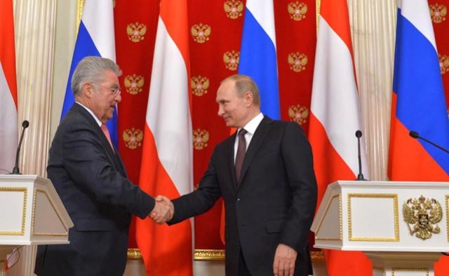 Путин: РФ и Австрия