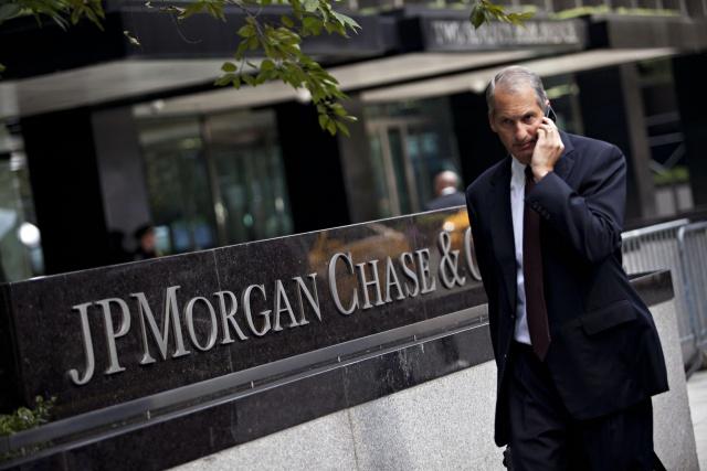 Прибыль JPMorgan в I