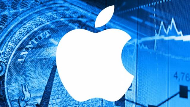 Выручка Apple упала