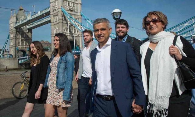 Мэром Лондона впервые