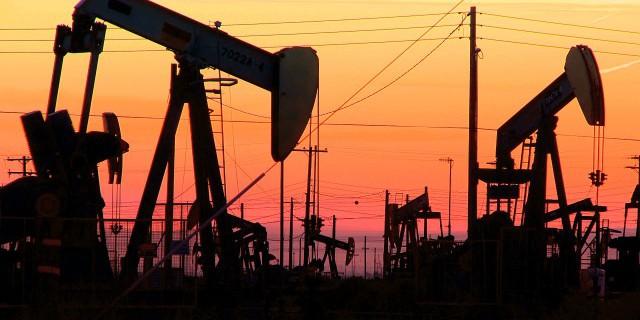 Число нефтяных установок