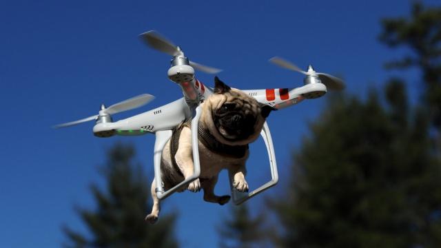 Как дроны стали