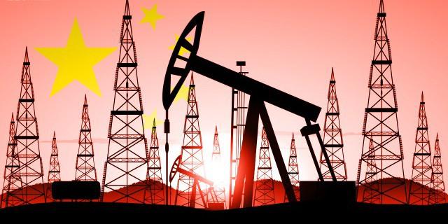 Китайская нефть: добыча