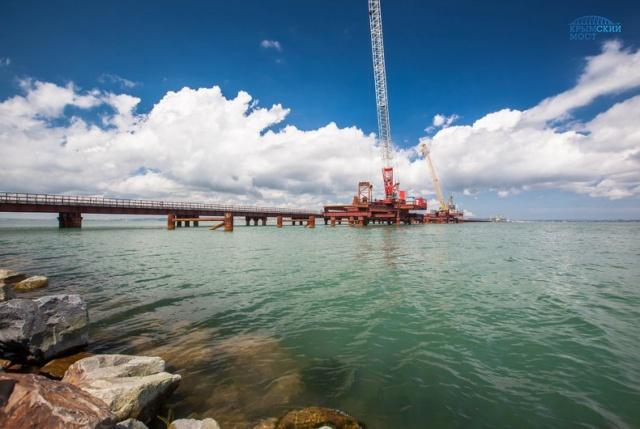 Крымский мост начали