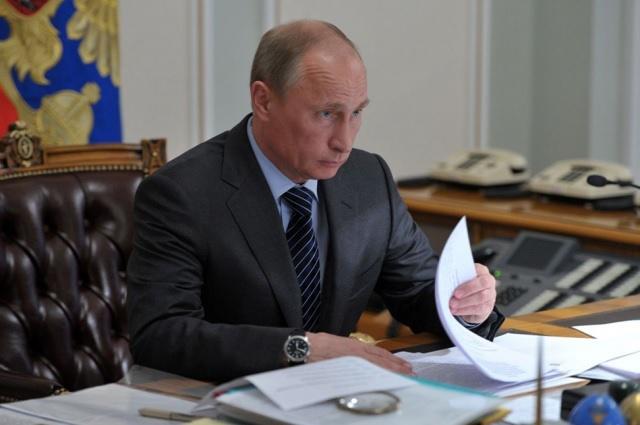 Путин повысил пенсионный