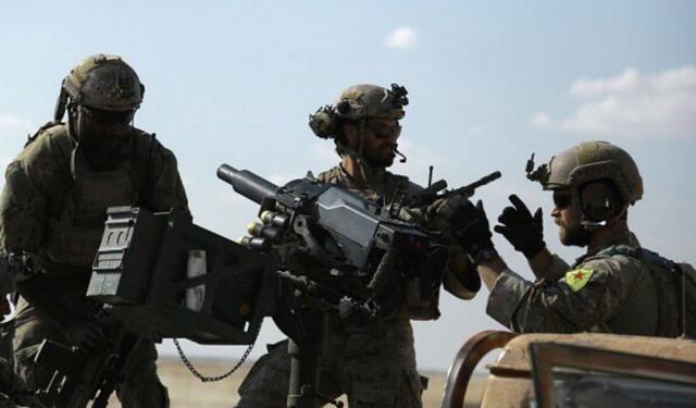 Спецназ США в Сирии