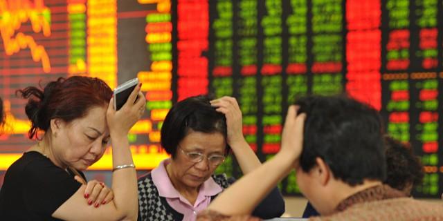 Крушение рынка Китая не