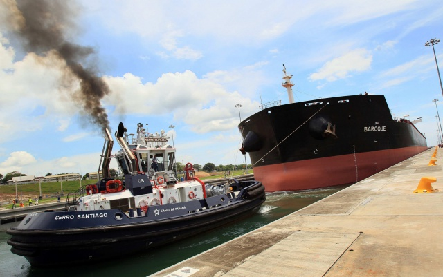 На Панамском канале