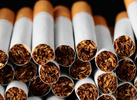 Производство сигарет в