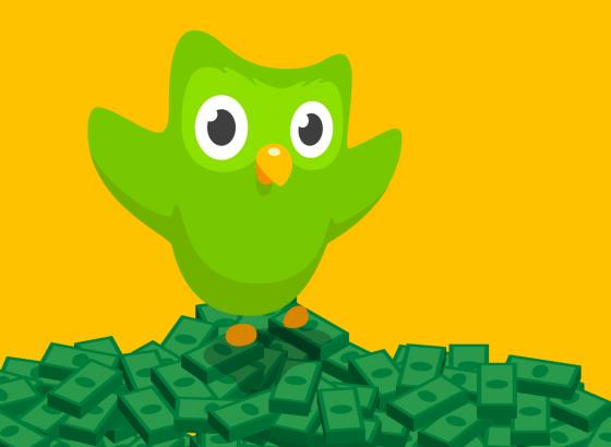 Языковой сервис Duolingo