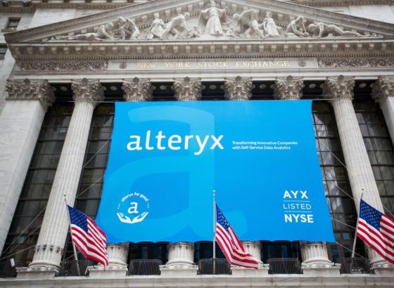 Акции Alteryx теряют 13%