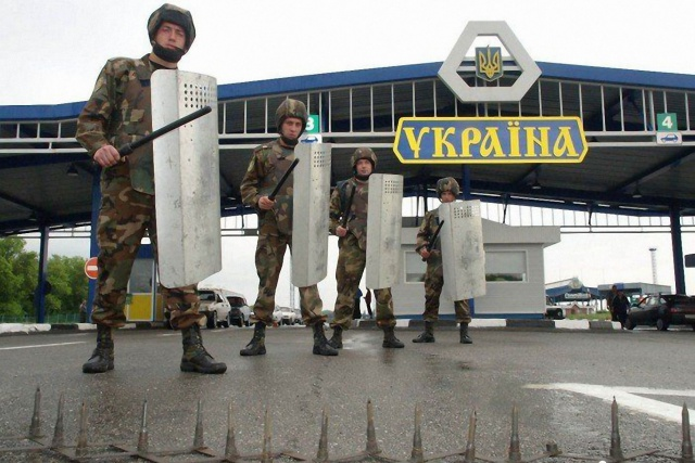 Украина перекрывает весь