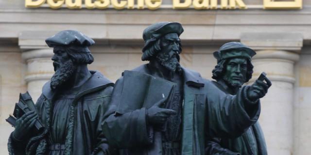 Deutsche Bank просит о