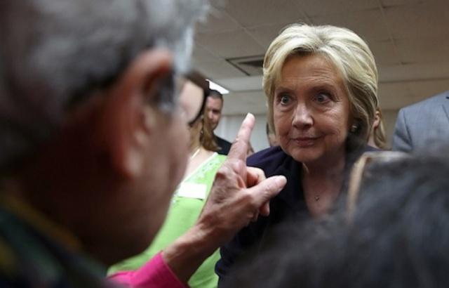 Gallup: имидж Хиллари