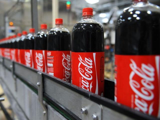 Выручка Coca-Cola во II