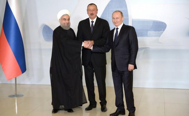 Россия, Иран и