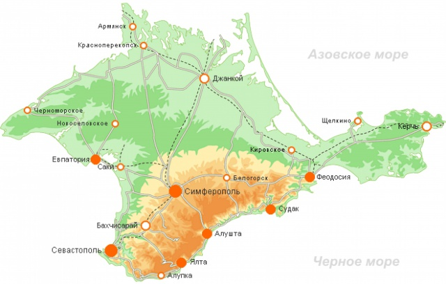 В Крыму построят