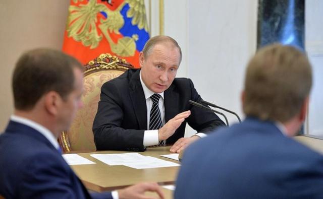 Путин: Украина перешла к