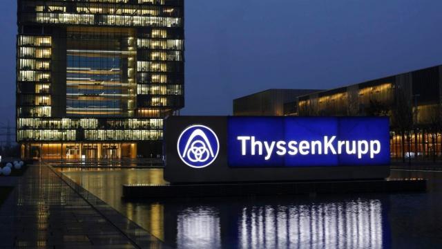 Прибыль Thyssenkrupp
