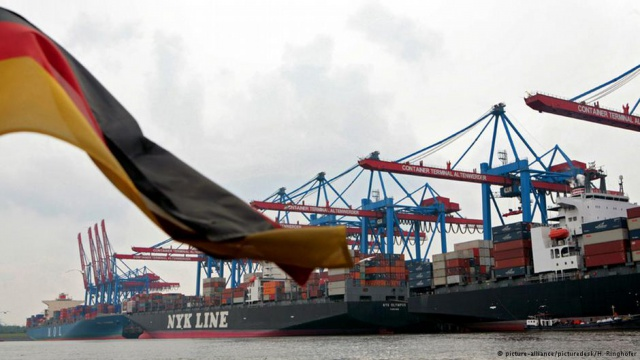 ФРГ увеличила экспорт в