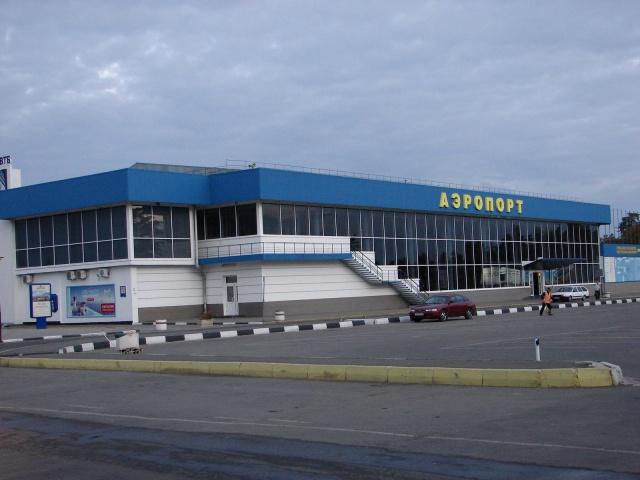 В аэропорту Симферополя