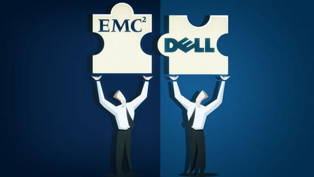 Слияние Dell и EMC