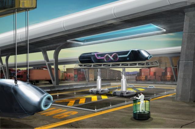 Строительство Hyperloop