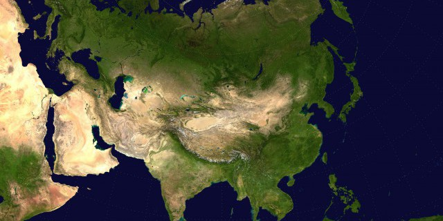 Большая Евразия обретает