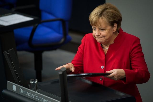 Провал партии Меркель: