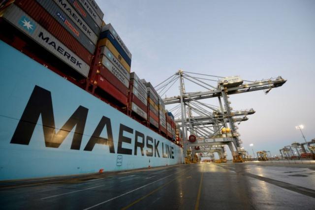 Maersk разделит