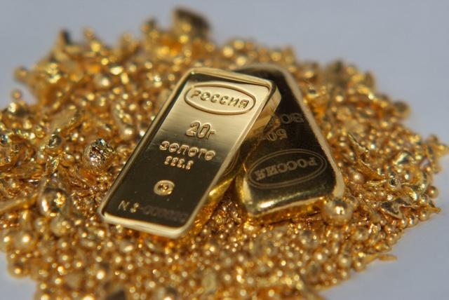 Российская золотодобыча: