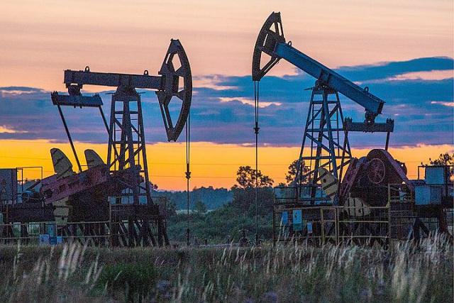 Добыча нефти в РФ на