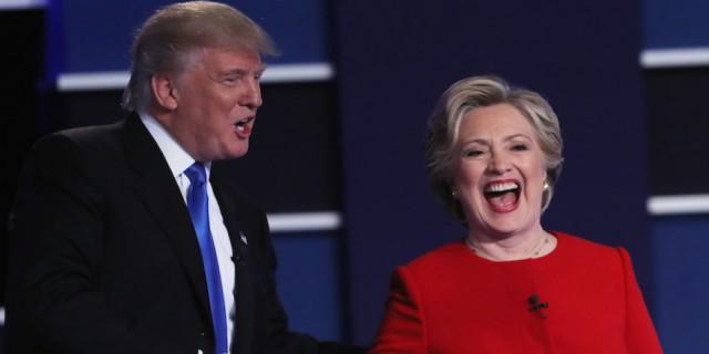 Победу на дебатах вновь