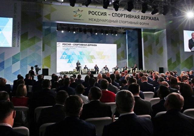 Путин: спорт должен быть