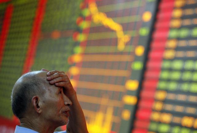 Юань утянул фондовый