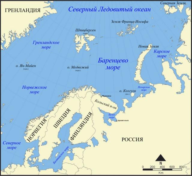 РФ и Норвегия заключат