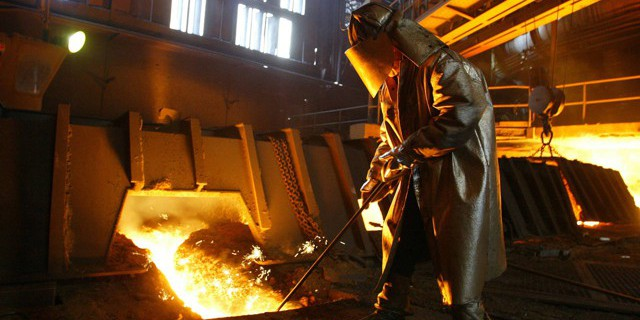 politics trade steel