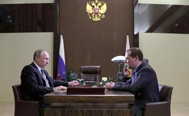 Медведев сообщил Путину