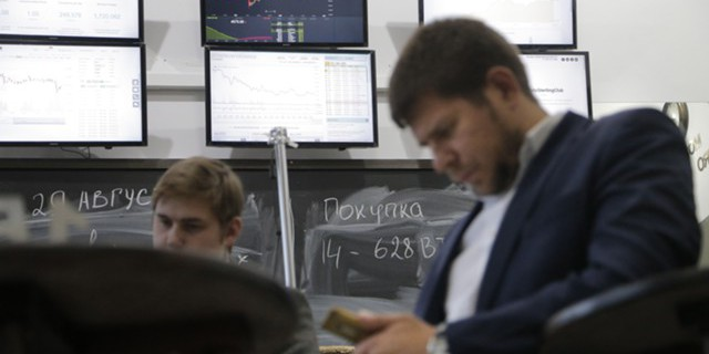 Отток из активов РФ