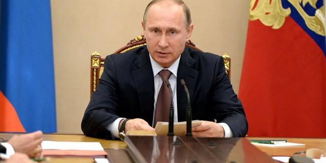 Путин поручил ограничить