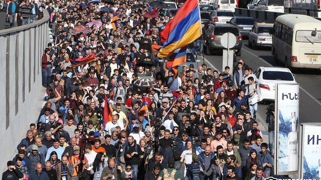 В Ереване начались