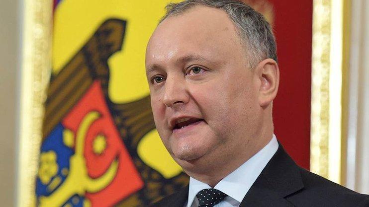 На президента Молдавии