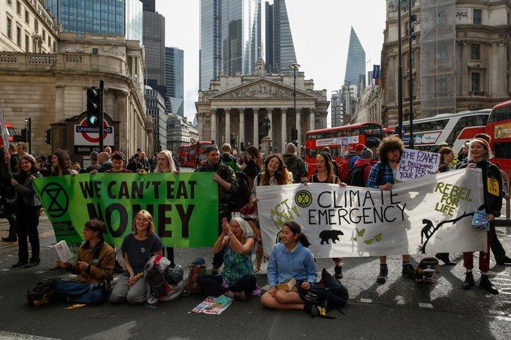 В Лондоне прошли акции