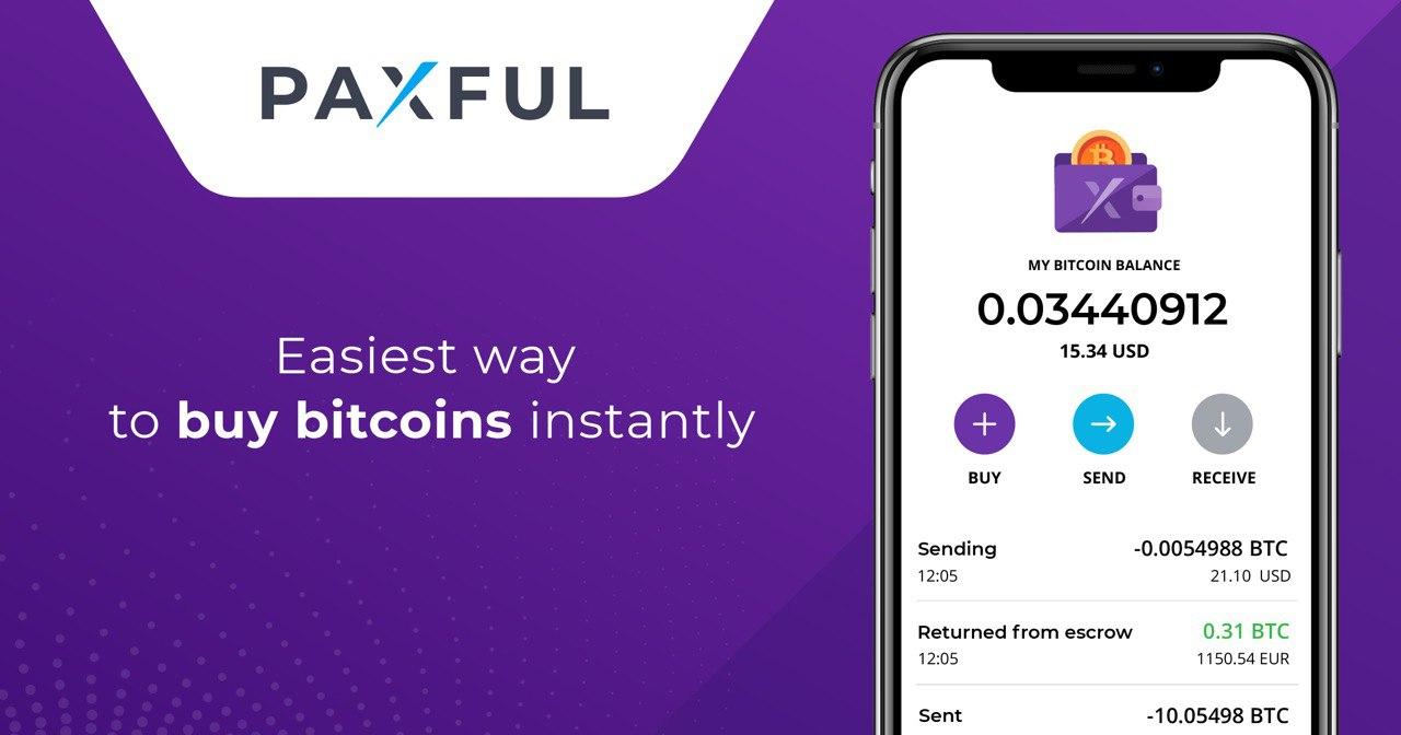 Paxful запускает приложение собственного биткойн-кошелька Paxful...