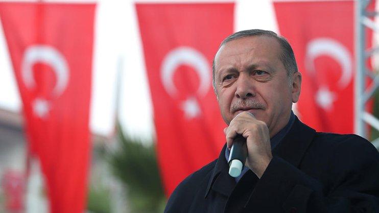 Эрдоган продолжает