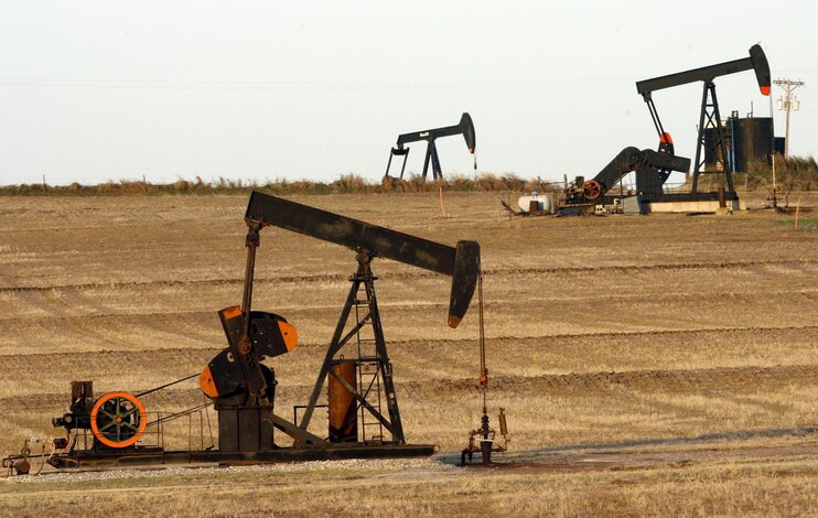 Пик добычи нефти в